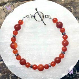 Pretty Carnelian Bracelet